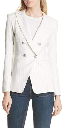 Veronica Beard Apollo Pinstripe Jacket