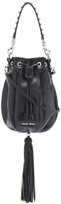 Miu Miu tassel embellished bucket bag