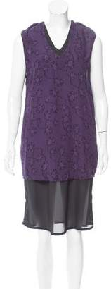 Rachel Comey Lace Print Sleeveless Dress