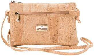 Bent & Bree BENT&BREE Genuine Cork Crossbody Handbag - Iris