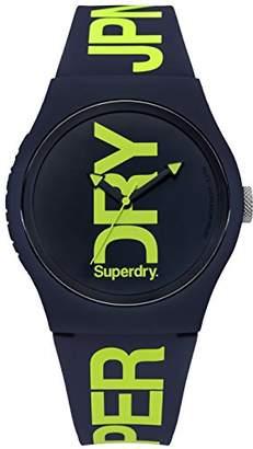 Superdry ' Urban' Quartz Plastic and Silicone Casual Watch