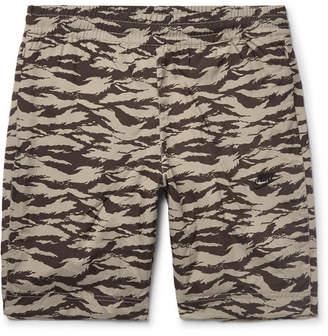 Nike Sportswear Vaporwave Slim-Fit Printed Nylon Shorts
