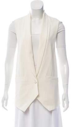 Haute Hippie Lace Accented Blazer Vest