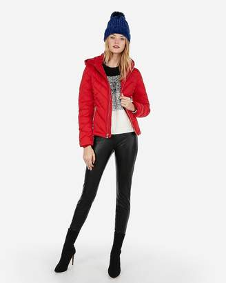 Express Hooded Puffer Jacket