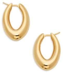 Sphera Milano Oval Hoop Earrings