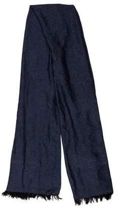 Chanel Cashmere & Silk Metallic Scarf w/ Tags