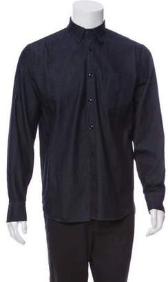 Rag & Bone Chambray Button-Up Shirt
