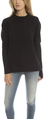RtA Arianne Lace Up Rib Sweater