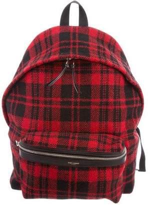 Saint Laurent Hunting Backpack