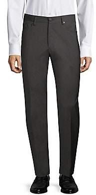 Incotex Men's Modern-Fit Poplin Pants