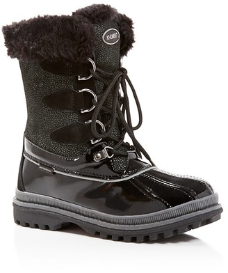 Khombu Free Textured Cold Weather Boots $99 thestylecure.com