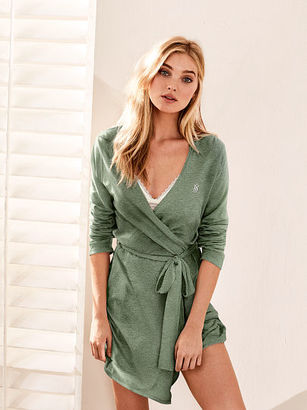Victorias Secret Sleepover Knit Robe $42 thestylecure.com