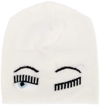 Chiara Ferragni flirting knit cap