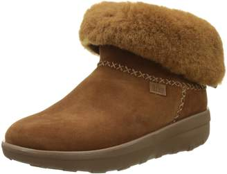 FitFlop Womens Mukluk Shorty II Suede Boots 7 US