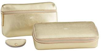 Pottery Barn Teen Classic Leather Travel Set