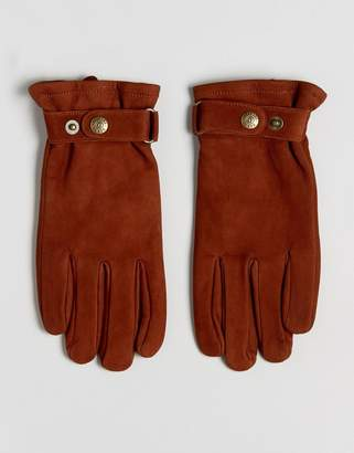 Dents Wells Nubuck Leather Gloves