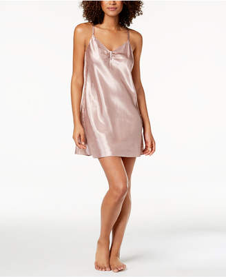 Thalia Sodi Lace-Panel Chemise, Created for Macy's