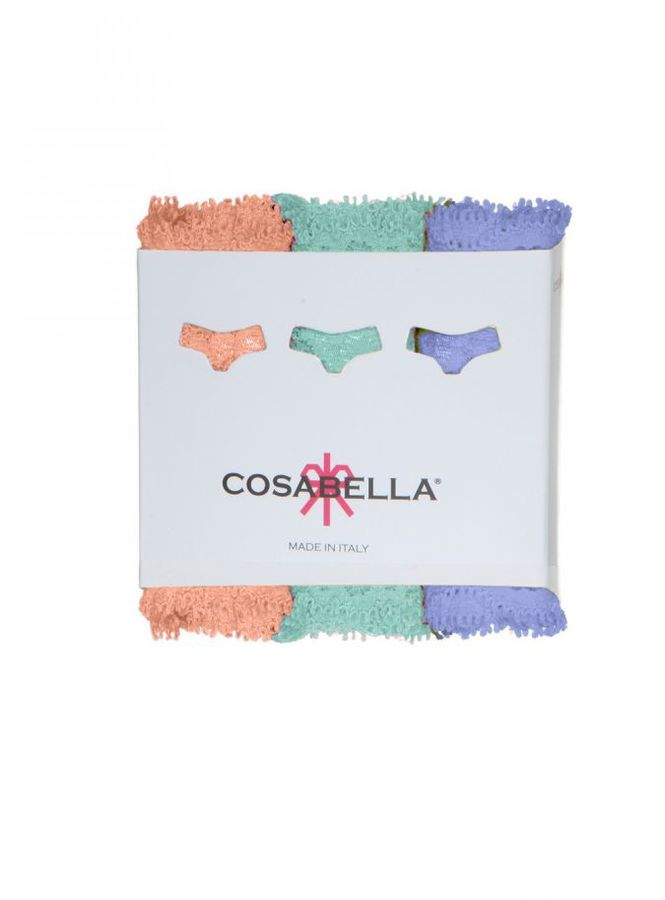 Cosabella Never Say Never Relaxed 'cozie' Thong 3pk
