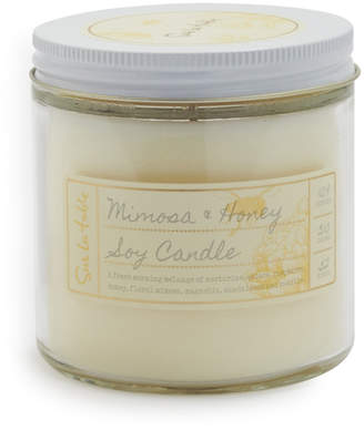 Sur La Table Mimosa and Honey Soy Candle
