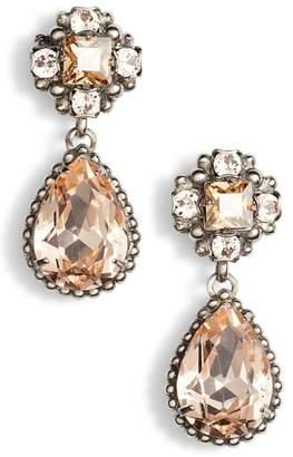 Sorrelli Posey Crystal Drop Earrings