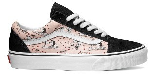 Women's Vans X Peanuts Old Skool Snoopy Kisses Sneaker $69.95 thestylecure.com