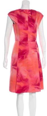 Akris Punto Midi A-Line Dress