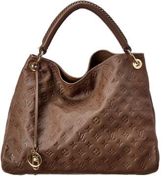 Louis Vuitton Brown Monogram Empreinte Leather Artsy Mm