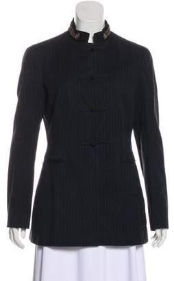Philosophy di Alberta Ferretti Toggle Striped Jacket