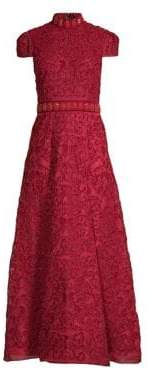 Alice + Olivia Nidia Embellished Gown