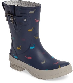 Chooka Women's Chooka Whales Mid Rain Boot