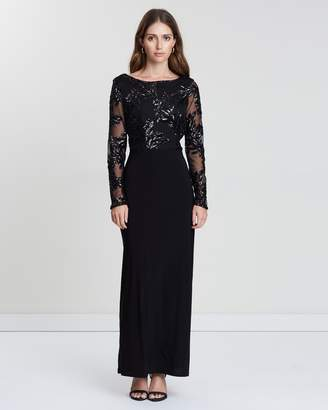 Wallis Mesh Sequin Maxi Dress
