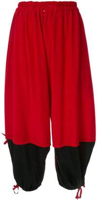 Y's contract balloon trousers
