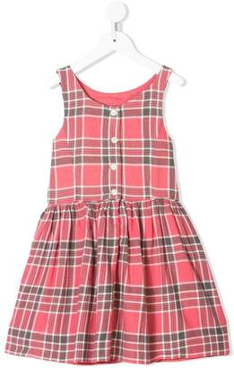 Ralph Lauren Kids checked sleeveless dress