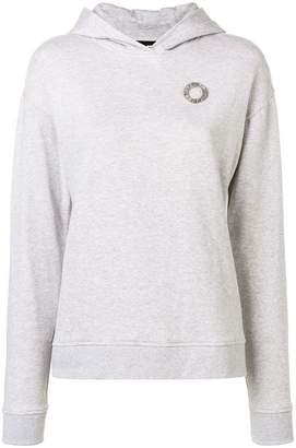 Karl Lagerfeld Paris ruffled hoodie