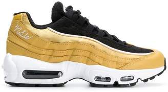 Nike metallic Air Max sneakers
