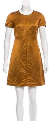 Diane von Furstenberg Crew Neck Mini Dress w/ Tags