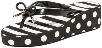 Kate Spade New York Rhett Wedge Flip Flops $58 thestylecure.com