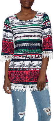 Avance Si Tribal Floral Tunic