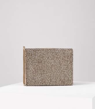 Reiss Cindy Embellish Beaded Clutch Bag
