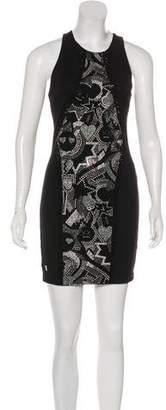 Philipp Plein Embellished Mini Dress