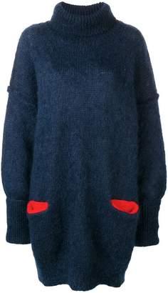 Maison Margiela oversized knitted dress