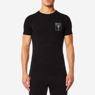 Versace Men's Small Chest Logo T-Shirt