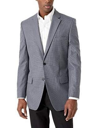 Haggar Men's Houndstooth Tailored Fit Sport Coat