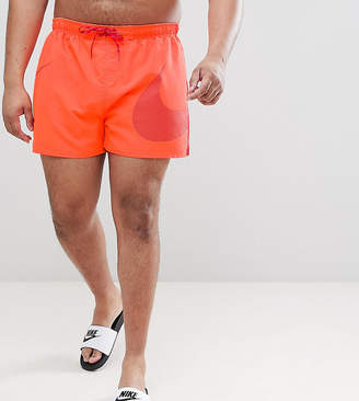 Nike Plus Volley Swoosh Swim Short In Orange Ness8457-618