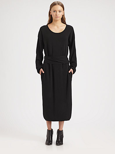 Christophe Lemaire Knotted Knit Dress