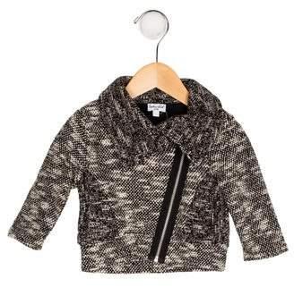 Splendid Girls' Tweed Zip-Up Jacket