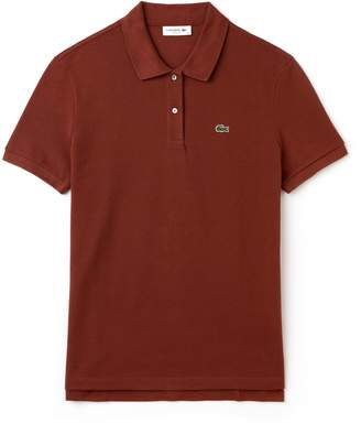 Lacoste Women's Classic Fit Soft Cotton Petit Pique Polo Shirt