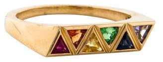 Chloé Melissa Kaye 18K Multistone Ring
