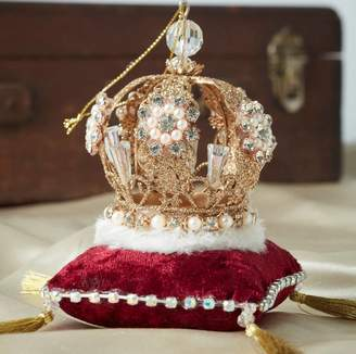 The Christmas Home Jewelled Crown Christmas Decoration
