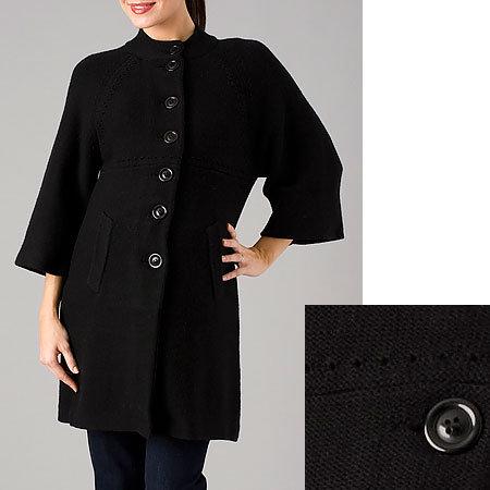 cadeau Kimono Sleeve Sweater Coat